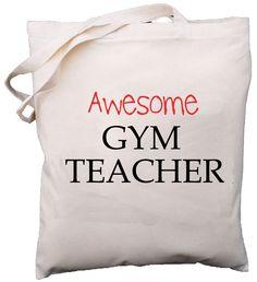 Awesome Gym Teacher Shoulder Bag