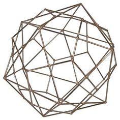 Threshold™ Metal Wire Decorative Figurine Extra Large Copper