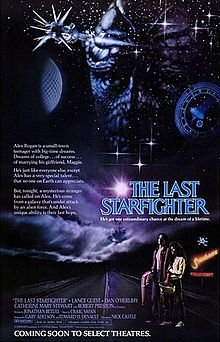 The Last Starfighter = Theatrical release poster. Directed by Nick Castle. Produced by Gary Adelson - Edward O. Denault. Written by Jonathan R. Betuel.  Starring Lance Guest, Robert Preston, Catherine Mary Stewart, Dan O'Herlihy, Norman Snow.   The Last Starfighter is a 1984 science fiction adventure film directed by Nick Castle. The film tells the story of Alex Rogan (Lance Guest), an average teenage boy recruited by an alien defense force to fight in an interstellar war. >> clic pic for…