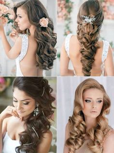Fancy hairdos (I like the top right the most)