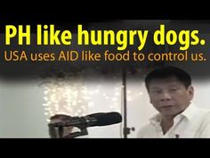 The US treats the PH like hungry beggars using aid as food. - WATCH VIDEO HERE -> http://dutertenewstoday.com/the-us-treats-the-ph-like-hungry-beggars-using-aid-as-food/   USAID like the  $433.9 million Millennium Challenge grant was pulled out because it went against the US wishes. News video courtesy of The Storyteller YouTube channel  Disclaimer: The views and opinions expressed in this video are those of the YouTube Channel owners and do not necessarily...
