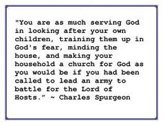 Quote for women by Spurgeon.