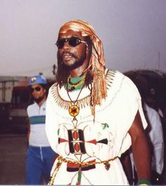 Peter Tosh was an African Jamaican reggae musician born Winston Hubert McIntosh on October 19, 1944 in Westmoreland, Jamaica. He was one of the core members of the band The Wailers (1963–1974) along with Bob Marley and Bunny Wailer. After leaving the Wailers he established himself as a successful solo artist. Peter Tosh was a Pan-Africanist and a devout Rastafari.