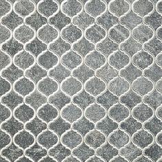 Veranda Paris Gray Quartz & Mirror Tile | Tilebar.com Mirror Mosaic, Mirror Tiles, Mosaic Glass, Mosaic Tiles, Wall Tiles, Deck Bar, Cascade Falls, Sanded Grout, Black Quartz