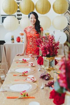 Chinese Party Ideas chinese new year party ideas red, gold party 100 layer cake Chinese Party Decorations, Chinese Theme Parties, Chinese New Year Party, New Years Decorations, New Years Party, Chinese Birthday, Chinese Table, New Year Table, Japanese Party