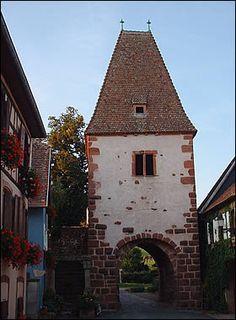 Une porte fortifiée de Boersch