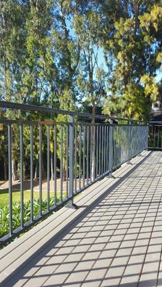 Aluminium Balustrades, Laser Cutting, Deck, Patterns, Outdoor Decor, Home Decor, Glass, Railing Design, Block Prints