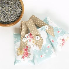 Scented Sachet Lavender Natural Fragrance for Wardrobe or Car