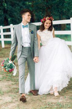 John Luke and MaryKate Robertson. Wedding and couple inspiration