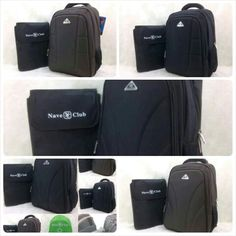 Ransel Laptop NAVA CLUB Premiun 33x16x46 free rain cover seri 3071-1 - 250rb