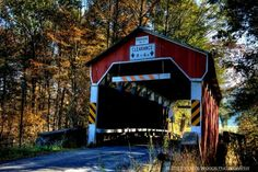 Richards Covered bridge, Columbia County, Pennsylvania