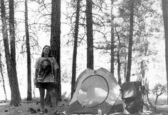 "| From Lost to Found: Cheryl Strayed's Journey in Photos | After Kennedy Meadows, Cheryl decided to bypass a challenging, snow-filled trail across the High Sierra. Instead, she caught a bus to Reno and hitched a ride to Sierra City, where she resumed her hike with 65 cents in her pocket. Here she is just before reaching her next resupply stop in Belden Town. ""I was three weeks into my hike, but everything in me felt altered,"" she writes."