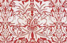 William Morris foi um dos pricipais fundadores do Movimento das Artes e Ofícios britânico. Ele era pintor de papéis de parede e tecidos padronizados