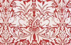 William Morris-I actually have this fabric from I got a very long time ago and have and have a authenic Morris chair I have been waiting for the right time to recover it! I cannot Wait!!!