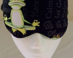 Check out our eye mask selection for the very best in unique or custom, handmade pieces from our shops. Frog Eye, Eye Masks, Vintage Marketplace, Yoga, Eyes, Handmade, Beauty, Craft, Cosmetology