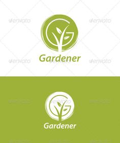 Gardener Logo suitable for any landscape and gardening related business. Font used: Myriad Pro Semibold Italic Created: GraphicsFilesIncluded: PhotoshopPSD Layered: Yes MinimumAdobeCSVersion: Resolution: Resizable Tags: garden Preschool Logo, Agriculture Logo, Water Logo, Farm Logo, Tree Logos, Logo Sign, Business Logo Design, Logo Concept, Graphic Design Typography