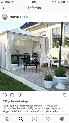 Back Deck, Outdoor Living, Outdoor Decor, Country Homes, Outdoor Landscaping, Hygge, My Dream Home, Terrace, Basement