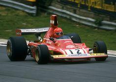 Niki Lauda - Ferrari 312B3 1974