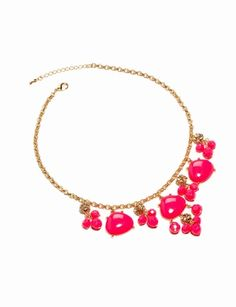 Neon Bobble Necklace from THELIMITED.com