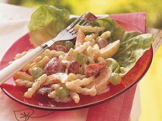 FRUIT AND PASTA SALAD WITH YOGURT http://www.bettycrocker.com/recipes/fruit-and-pasta-salad-with-yogurt/fd12f711-ca17-4f21-9a88-7b1ff135ae2e