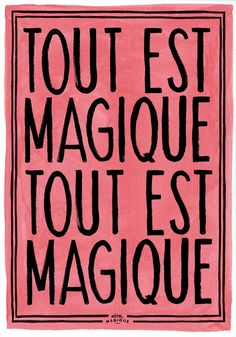 Hotel Magique, a paper goods brand by Milou Neelen. Grab a print of this gem here.