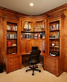 Traditional Home Office Photos Corner Desk Design, Pictures, Remodel, Decor and Ideas - page 10