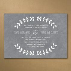 Simply Charming - Invitation | KSW Exclusive Invitations