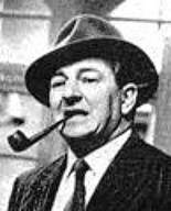 Inspector Jules Maigret created by Georges Simenon. Played by Rupert Davies in the '60s British TV series.