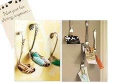 Forks!! Kitchen organizing/ displaying idea. ForKing L<3ve this!!
