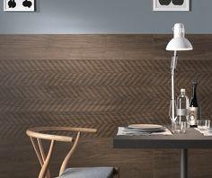 New Line Boden- und Wandfliesen Design von Diego Grandi Interior Barn Doors, Interior Walls, Interior Design, Porcelain Wood Tile, Wall Tiles Design, Types Of Flooring, Wall And Floor Tiles, Design Awards, Vintage Wood