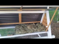 YouTube tour of a frame /  A-frame chicken coop, chicken tractor