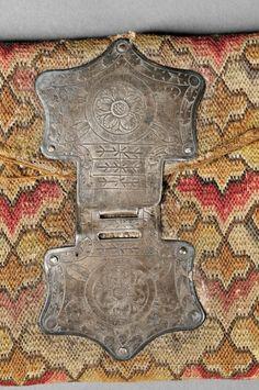 John Stevens Jr. Woolen Needlework Pocketbook   Sale Number 2786B, Lot Number 31   Skinner Auctioneers