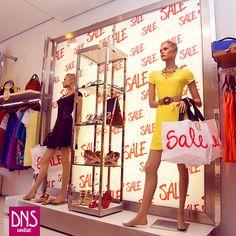 VM Promocional da Danashe Moda #visualmerchandising #promoção #sale #fashionwindow #retail #moda