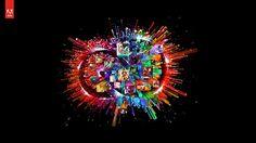 Wallpaper Creative Cloud on Behance