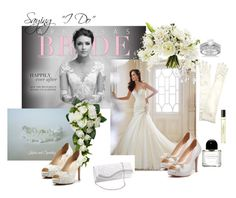 """""""Weddings and Brides"""" by lory187 ❤ liked on Polyvore featuring John Lewis, Allurez, Byredo, weddings and Brides"""