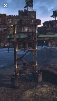 Fallout 4 Tips, Fallout Mods, Fallout Vault, Video Game Anime, Video Games, Fallout 4 Far Harbor, Fallout 4 Settlement Ideas, Fall Out 4, Building Ideas