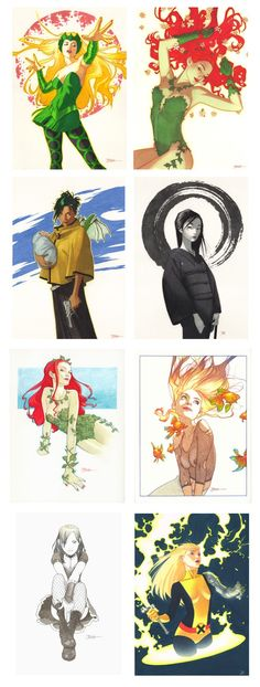 The Art of Joshua Middleton: Conventions