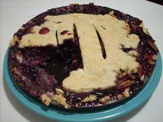 Concord Grape Pie with Walnuts and Orange Zest Recipe