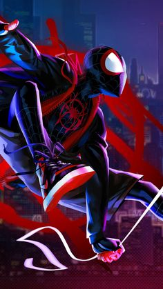 Take this Spider-Man: Into the Spider-Verse Character Quiz to find out which Spiderverse character matches your personality. Miles Spiderman, Miles Morales Spiderman, Black Spiderman, Spiderman Spider, Amazing Spiderman, Marvel Art, Marvel Heroes, Marvel Avengers, Wallpaper Animé