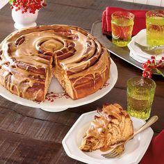 13 Best Coffee Cake Recipes: Sweet Potato Coffee Cake with Caramel Glaze