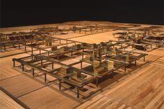 """""""Agricultural City"""" by Kisho Kurokawa (1960) / 黒川紀章《 農村都市計画 》(1960)"""