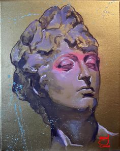 Venus Pink by Marcos Cañada. Oil on canvas 20 x 25 cm (7,8 x 9,8 inches)