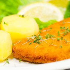 My favorite dish from when I lived in Germany.  Dinner Recipe: Pork Schnitzel