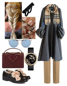 """Wintertime Vibes"" by iffieluv ❤ liked on Polyvore featuring Emilia Wickstead, Glamorous, Prada, Pokemaoke, Illesteva, Burberry and Chanel"