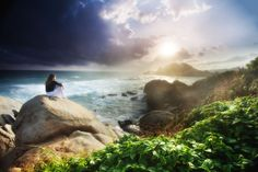 'Morning Rise' by WanderingtheWorld Columbia, Tayrona National Park Tayrona National Park, Laini Taylor, Golden Hour Photos, Daughter Of Smoke And Bone, Morning Rose, Free Desktop Wallpaper, Desktop Backgrounds, Wallpaper Downloads, Cabo