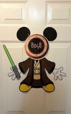 Mickey Jedi Star Wars Mickey Disney cruise  by Ashalinaballerina