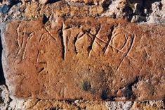 Un graffito sul muro della Santa Casa