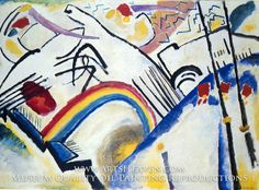 Painting Reproduction of Cossacks, Wassily Kandinsky