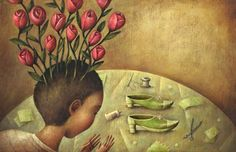The Boy Who Grew Flowers, illustrated by Steve Adams Steve Adams, Growing Flowers, Illustrators, Drawings, Painting, Inspiration, Graham, Albums, Google Search