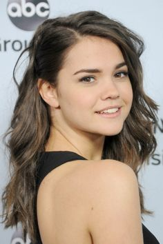 Maia Mitchell Debuted An Edgy New Septum Piercing and we love it